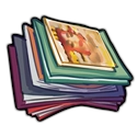"""Huge stack of magazines illustration"""