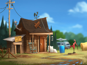 """Shack illustration"""