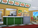 Tony's Pizza - Counter screen